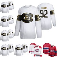 Wholesale canadiens jersey numbers resale online - 6 Shea Weber Brendan Gallagher Montreal Canadiens Jersey Carey Price Tomas Tatar Jonathan Drouin Customize any number any name