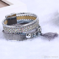 Wholesale bracelets magnets resale online - Bohemian Bracelets Vintage Brazilian Magnet Magnetic Bracelet