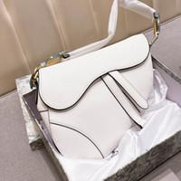 Wholesale top shops resale online - Top A Messenger Bags High Quality Women s Shoulder Bag Boutique Saddle bag Shopping Bag Wallet Fashion Classic Women Bags with box
