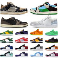 bowling green basketball groihandel-nike sb dunk low Skateboard Schuhe Chunky Dunky Bears Green Chicago 1s niedrig Shattered Backboard Basketballschuh Herren Damen Turnschuhe Sport Turnschuhe Größe 36-45