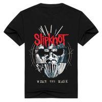Wholesale slipknot masks for sale - Group buy Hoodie Slipknot Summer New T Designers Interesting Black Shirts Mask Men Rock Mens The Wear Sweatshirt Wxhxc