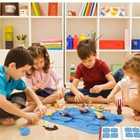 Wholesale kids thinking toys for sale - Group buy Baby Iq Puzzle Board Games Challenge With Solution Smart Logical Thinking Family Game Kids Toy Jouet Enfant Intelligent wmtvIr xhlove