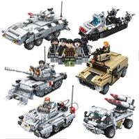 Wholesale kazi blocks for sale - Group buy Kazi New Military Series Super Weapon Figures Tank Model Building Blocks Set Bricks Kids Children Toys Gift bbymEZ bdetoys
