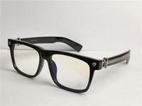 men optical BOX punk style design retro square frame top quality clear lens eyewear can do prescription glasses