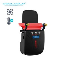 Wholesale fans exhaust for sale - Group buy COOLCOLD Mini Vacuum Laptop Cooler Air Extracting Exhaust Cooling Fan USB Cooler For All Size Notebook Hardware Cooling