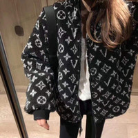New winter 2020 polar bear stand-up jacket with extra thickness for men and women web celebrity lamb coat