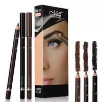 Wholesale 12pcs lip pencil for sale - Group buy 12pcs Eye Brow Pencils Make Up Set Colors Waterproof Eyebrow Eye Liner Pen Lip sticks Cosmetics Beauty Makeup tool Kit