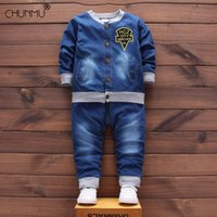 Wholesale giraffe kids clothes for sale - Group buy Infant Suits Spring Autumn Toddler Boy Clothing Sets Kids Clothes Giraffe T shirt Pants Long Sleeve Baby Boys Outfits Set C1021