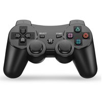 Wholesale sony ps3 controller resale online - Private model is suitable for Sony ps3 Bluetooth gamepad ps3 wireless six axis controller with naked PE packaging