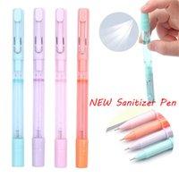 Wholesale pen spray bottle resale online - 2020 NEW in Spray Bottles Pen MM Black Liquid Gel Pen for office and school black pen ZZC2264