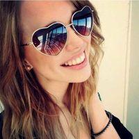 Wholesale heart shaped sunglasses for women resale online - sun glasses Heart shaped for fashion women ladies sunglasses