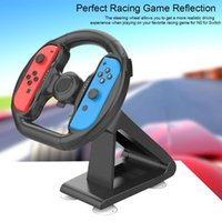 Wholesale steering games resale online - Game Steering Wheel Comfortable Gamepad Steering Wheel Bracket Convenient Controller for NS for Switch