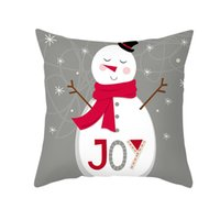 Wholesale great cushions for sale - Group buy Christmas Tree Santa Elk Snowman Hat Letter Pillow Case Cushion Cover Xmas Decor Great Cushion Cover For Christmas jllqvg yy_dhhome
