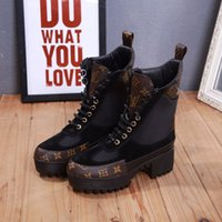 Wholesale mixed size shoes for sale - Group buy Casual shoes high heeled boots L Louis comic designer ladies blast away brand luxury private customization size with box
