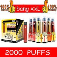 Wholesale electronics devices resale online - Bang XXL Disposable Vapes Pen Pod Device Kit Local Vape starter Kit Disposable Electronic Cartridges mAh Battery puffs