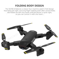 HD Quadcopter Mini Foldable Drone Optical Flow Positioning Video Camera Hand Gesture Control Sensor RC Latest Aircraft 4k Battery Free ship
