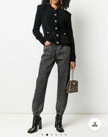 Milan Runway Coats 2020 Long Sleeve O Neck Panelled Women's Coats Designer Coats Brand Same Style Jackets 1004-1