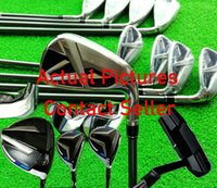 Complete Set Golf Clubs Driver Fairway Woods Irons + Free Golf Putter Real Pictures Contact Seller