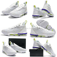 Wholesale white shoes new style boys for sale - Group buy New Style lebron SB SuperBron Men Basketball Shoes Trainer Good quality White Varsity Mens Athletic Sports shoes