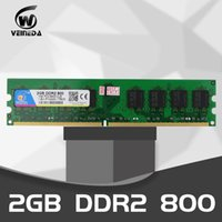 Wholesale ddr2 intel resale online - VEINEDA ddr2 Memory gb gb mhz Dimm Pin V CL6 PC2 For Intel AMD Mainboard Compatiblt GB DDR2 MHz