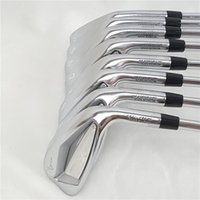 Wholesale New Golf Irons Golf Clubs jpx919 iron Set Golf Forged Irons PG R S Flex Steel Graphite Shaft With Head Cover