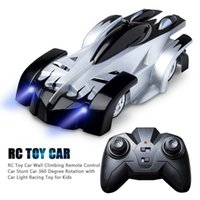 Wholesale wall cars toys resale online - Children s model climbing riot car wall roof race climb remote control toy car