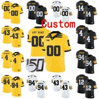 iowa hawkeyes jerseys 2021 - Custom Iowa Hawkeyes College Football Jersey 10 Mekhi Sargent 12 Brandon Smith Ricky Stanzi 14 Desmond King Men Women Youth Stitched