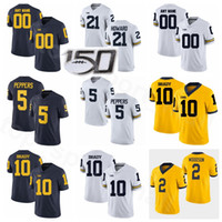 peppers jersey michigan 2021 - College Football NCAA Michigan Wolverines 10 Tom Brady Jersey Legend 5 Jabrill Peppers 2 Charles Woodson 21 Desmond Howard 56 LaMarr Woodley