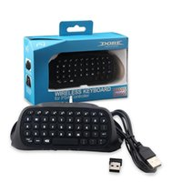 Wholesale wireless keyboard joystick for sale - Group buy PS4 Controller Bluetooth Keyboard PS42 G Joysticks PS4 Game Controllers PS4 Wireless Keyboard