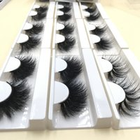 Wholesale d box price for sale - Group buy Price mm Fluffy Real Mink Eyelashes D D D Mixed Styles in Random with Free Mixed Soft Paper Lash Boxes FDshine
