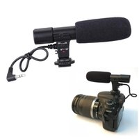 Freeshipping MIC DC DV Stereo Microphone for Canon EOS 5D Mark III 5D Mark II 7D 6D 70D 60D 760D,750D,700D 650D 600D 100D EOS-M