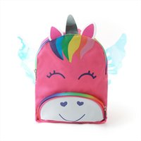 Wholesale school wing for sale - Group buy Under Nineteen Creative Unicorn Wings Kids Backpack Fashion Mini schoolbag Backpack New Children School Bags Girls Cute