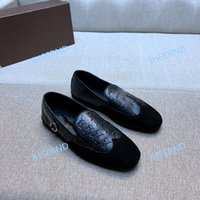 Wholesale step shoes resale online - 2020 men s trend gentleman one step flat shoes driving casual shoes high quality cowhide leather with suede suede
