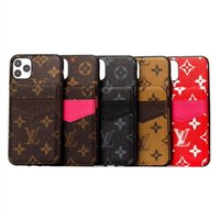 Wholesale phone cases wallets for sale - Group buy Designer Leather Case Phone Case for Iphone pro max mini X XR Xs Max Plus Cover Shell Card Wallet