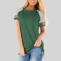 Wholesale raglan shirt resale online - Women T shirt Summer Raglan sleeve Top Slim Short Sleeve T Shirt Women Casual Tops Tee Female Vintage Tee Harajuku Streetwear