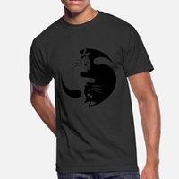Wholesale YING YANG CAT T Shirt Leisure Hiphop Sports Tracksuit Hoodie Sweatshirt