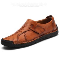 Wholesale famous footwear for sale - Group buy Famous designer Loafers slip on driving shoe with top quality genuine leather men fashion streetwear casual footwear