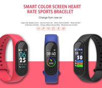 Discount kids fitbit watches NEW M4 Smart Band Waterproof Fitness Tracker Watch Fitbit Style Smartband Monitor Health Wristband Support Android IOS