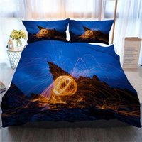 Wholesale wool duvets for sale - Group buy Bedding Piece Duvet Cover Sets Steel Wool Painting Quilt Bedding Comforter Bedding Sets