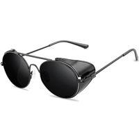 Wholesale flip glasses for sale - Group buy Sunglasses for men and women Gothic flip glass high end metal gloves style designer glass