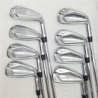 Wholesale 8PCS New JPX919 Golf Clubs JPX919 iron Set Golf Forged Irons Golf Clubs G R S Flex Steel Shaft With Head Cover