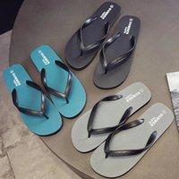 Wholesale flip glasses resale online - Flip Flop Sandals Summer Social Antiskid Men s Foot Pinching Students Korean Personalized Trend Beach Net Red