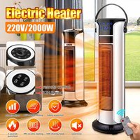 Wholesale portable heaters resale online - 2000W V Home Heater Fan Portable Electric Heater Home Heating Electric Warmer Air Fan Stove Office with Remote Control