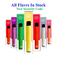 High Quality Puff bar plus disposable vape device with new security code 550mAh battery 3.2ml Capacity 800 puffs