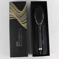 2021 Glide Hot Hair Brush One Step Hair Dryer & Styler &Volumizer Multi-functional Straightening & Curly Hair Brush with Negative Ions