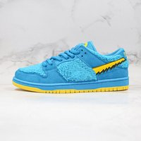 Wholesale skates shoes resale online - Mens SB Dunk Skate Shoes LOW PRO QS OG Nap Three Bear Pack Women Sneakers Cow Chunky Dunky Ladies Trainers