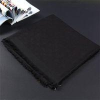 Winter scarf unisex wool scarfs classic letter Wrap Unisex ladies cashmere shawl original scarf 140X140cm