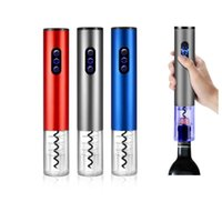 Wholesale can openers wedding gift resale online - Electric Wine Bottle Opener Battery Operated Electric Corkscrews Wine opener Corkscrew Kitchen Bar Home Tools Wedding Party Gift FWA1604