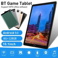 ingrosso migliori androids compresse-New Best Android 9.0 Tablet PC da 10.1 pollici 6 GB + 128 GB Wifi Tablets PC doppia fotocamera Dual Sim Card Phone Tablet Bambini Tab