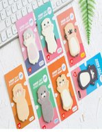 Wholesale korean planner for sale - Group buy 8 Pet Cat Sticky Note Set Korean Memo Pads Diary Stickers Planner Guestbook Kawaii Stationery Office School Supplies Fm044 sqcNUW